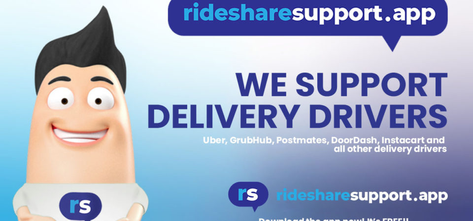 5 benefits of using Rideshare Support for rideshare & delivery drivers