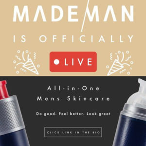 MadeMan Skincare Line is Creating a Cultural Revolution for Men